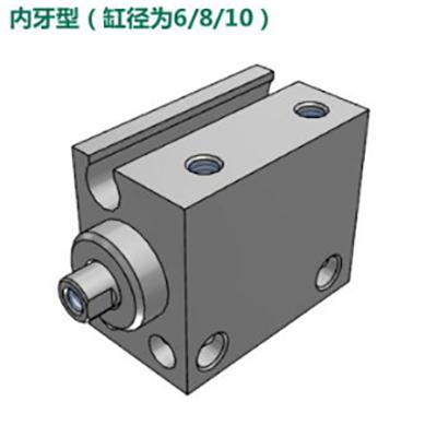 亚德客小型自由安装气缸,MU8X4-S