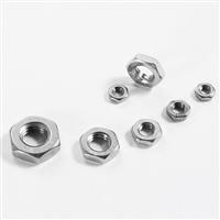 奥峰 薄螺母,DIN439,M5,不锈钢A2,500个/包  DIN439,M5,不锈钢A2,500个/包