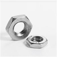 奥峰 薄螺母,DIN439,M4,不锈钢A2,500个/包  DIN439,M4,不锈钢A2,500个/包