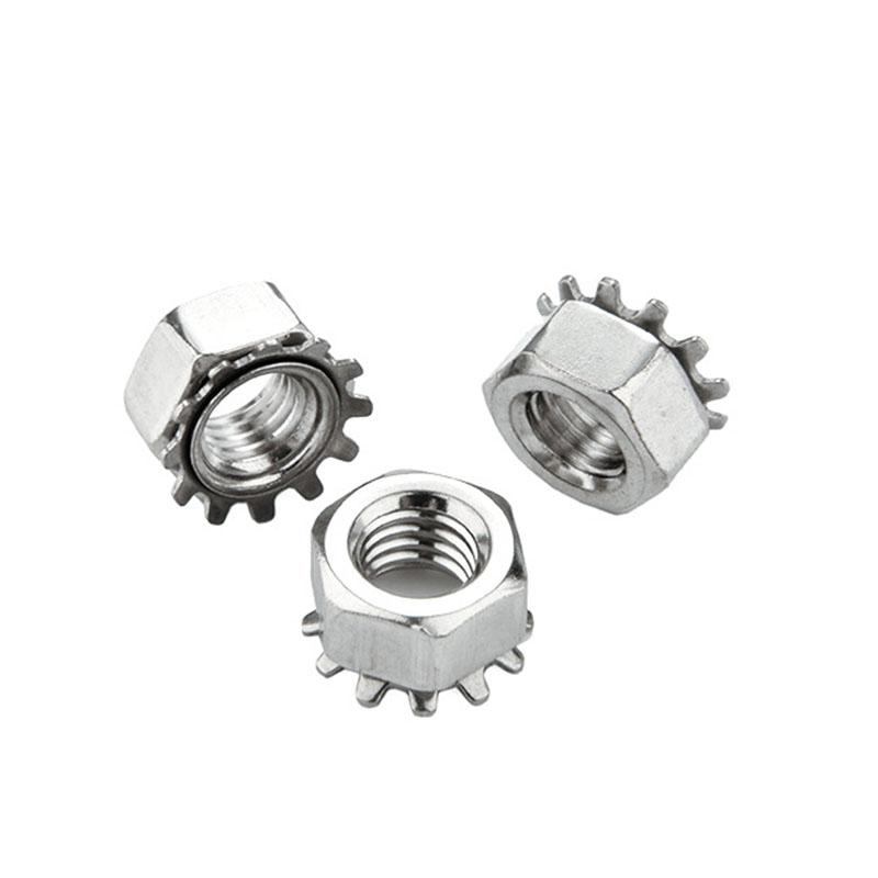 K型螺母,M6,不锈钢A2,800个/包