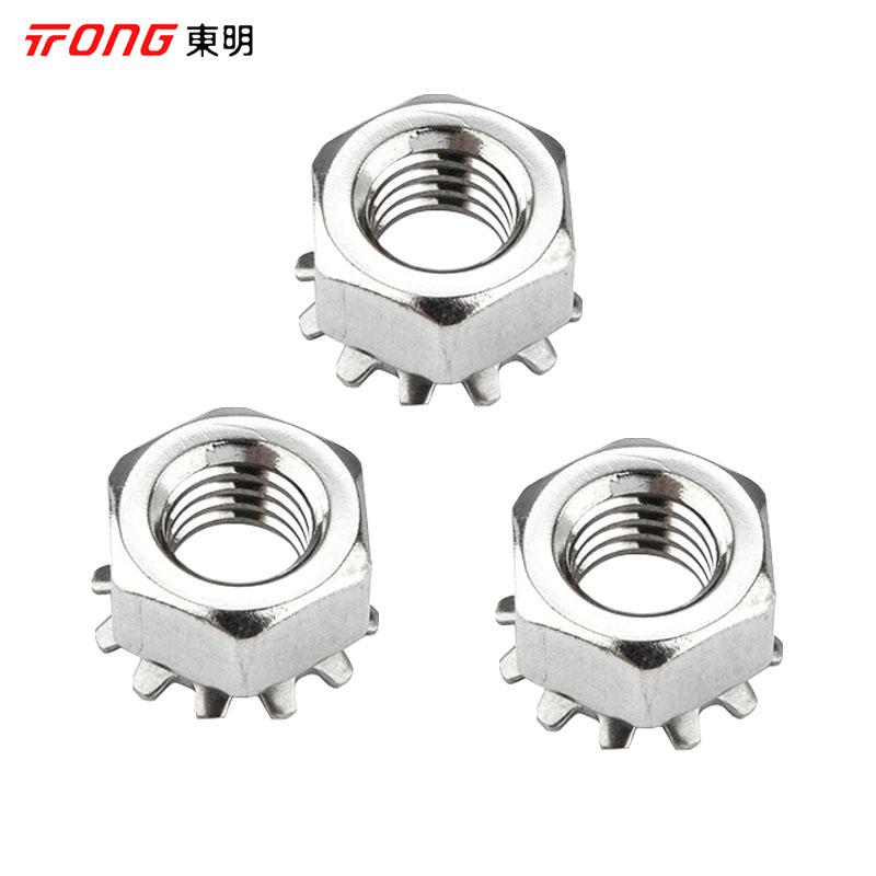 东明 K型螺母,M4,不锈钢A2,2500个/包  K型螺母,M4,不锈钢A2,2500个/包