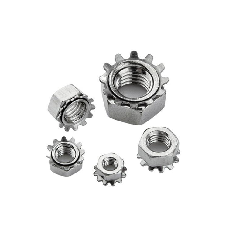 东明 K型螺母,M10,不锈钢A2,180个包  K型螺母,M10,不锈钢A2,180个包