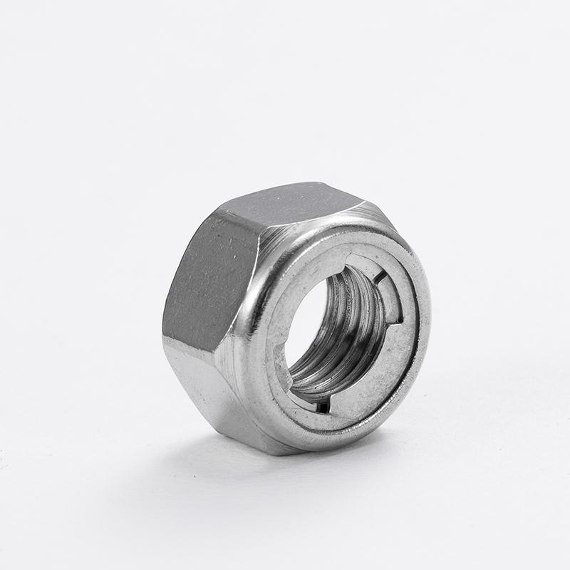 尼龙防松螺母,DIN985,M4,不锈钢A4,100个/包