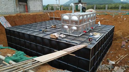 南京304不銹鋼地埋式水箱