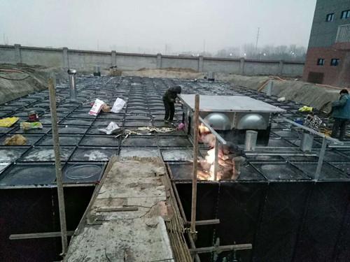 北京不銹鋼地埋式水箱維修 地埋式組合水箱