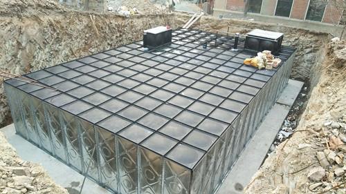 杭州消防地埋式水箱一體化設備
