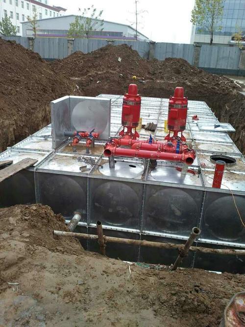 佛山装配式地埋式水箱报价 地埋式不锈钢水箱