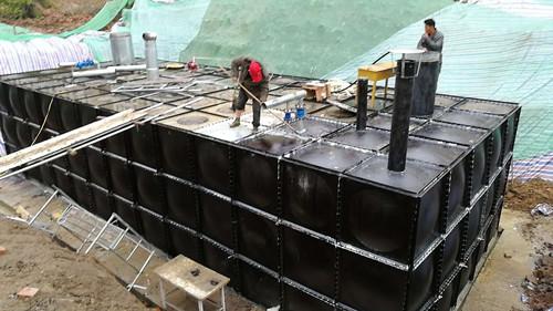 常州BBF地埋式水箱施工