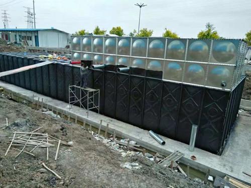 寧波BDF地埋式水箱施工
