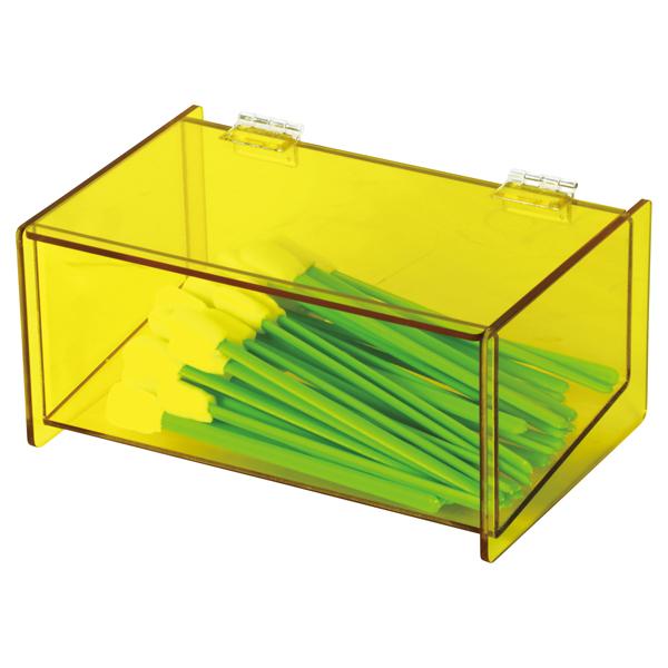 亚速旺(ASONE)防静电有机玻璃盒(无尘棉签用) CC-302-2,C3-8852-01