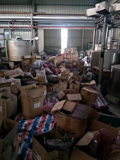 塑胶色粉颜料回收 酞青蓝回收 高价上门回收