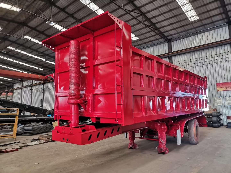9米后翻自卸半挂车 自卸半挂车厂家 功能齐全 适应性比较强