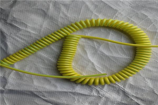 PU螺旋电缆 原装进口电缆厂家地址 耐弱酸弱碱