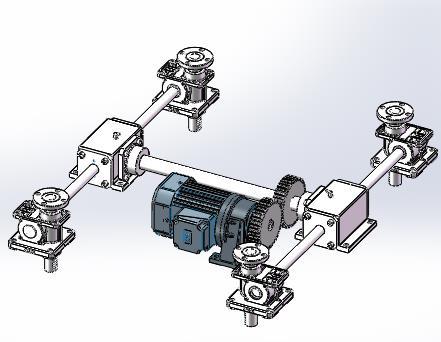 专业定制电动同步升降器参数 小型电动升降器