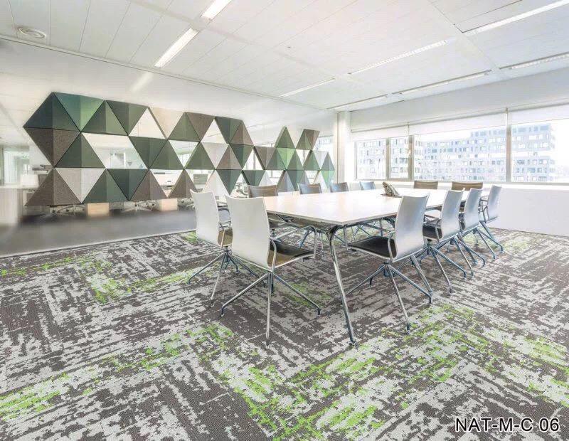 越秀区方块地毯生产厂家 拼接地毯 防水性防污力强