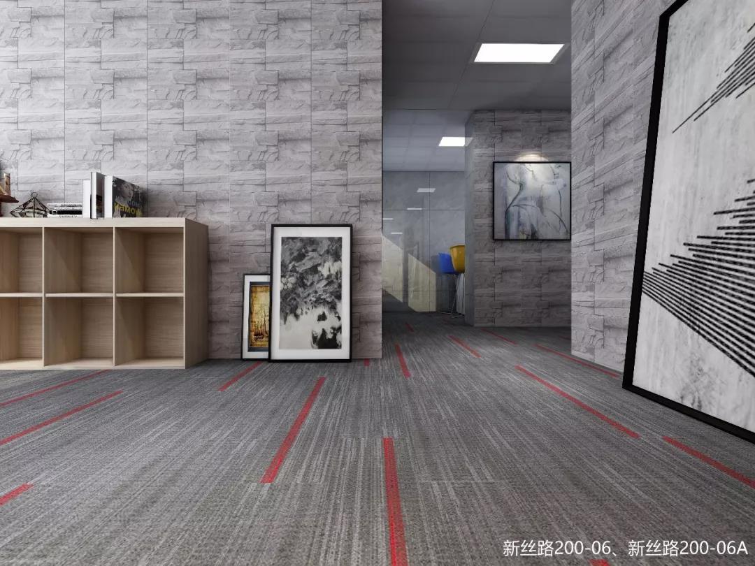 海珠区方块地毯规格 环保地毯 耐磨 抗静电 阻燃 隔音