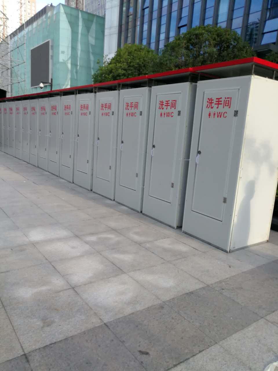 西安移动厕所租赁 移动卫生间租赁 租赁方便