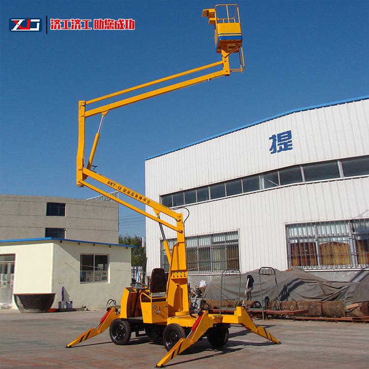 银川曲臂式升降机 曲臂升降机品牌 操作方便