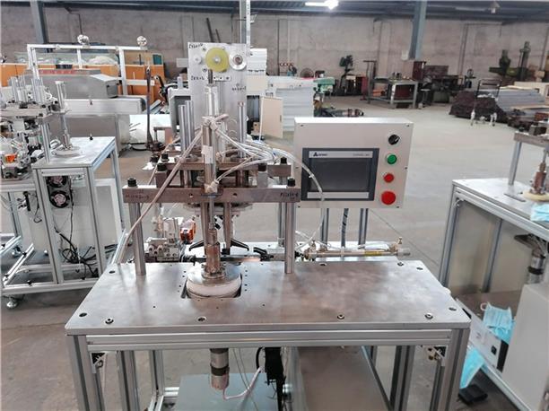 KN95口罩点焊机 有实力的KN95口罩点焊机公司 焊接效率高