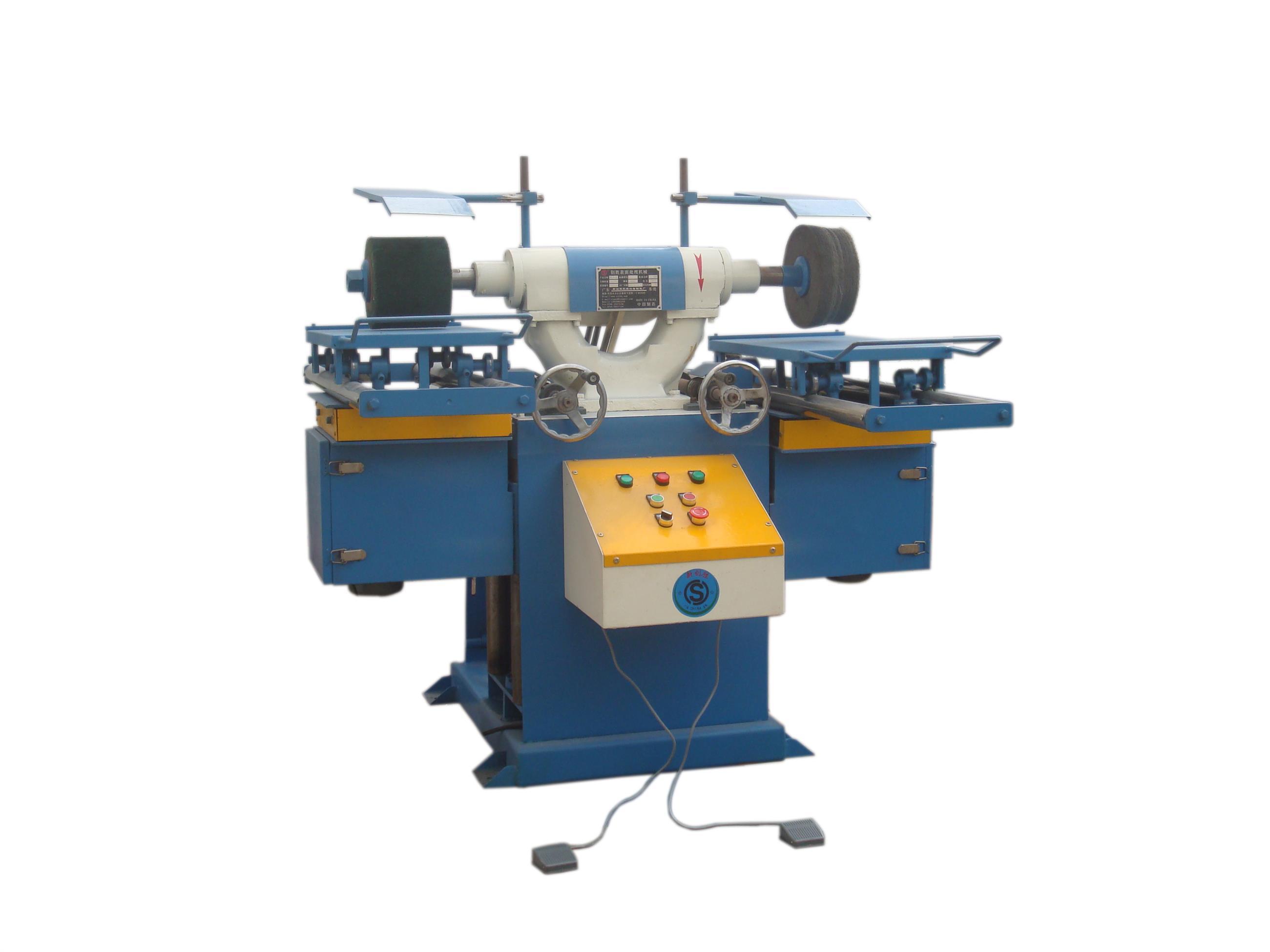 方条水磨拉丝机 平面打磨机 生产效率高 安全可靠