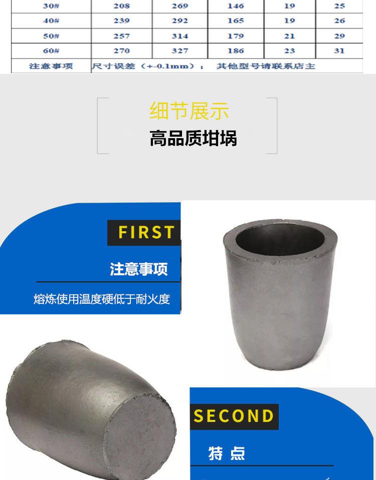 石墨坩埚 炼钢石墨坩埚 广受客户好评