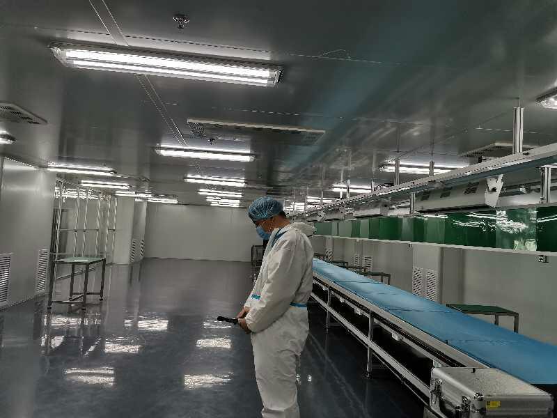 通用灌装间洁净检测报告 化妆品车间检测 出具实验室检测报告