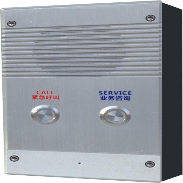 学校IP对讲规格 壁挂式单键对讲面板 音质清晰流畅