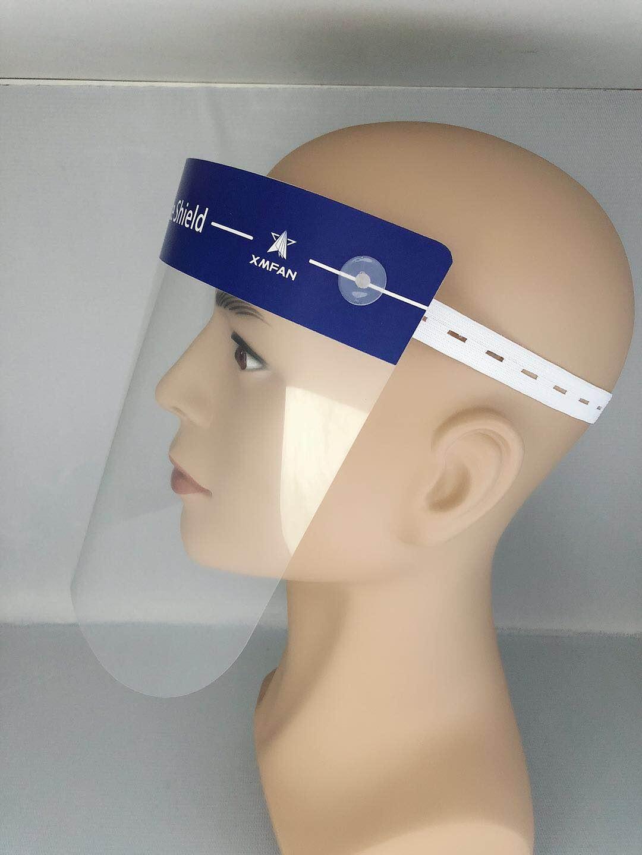 防疫醫用防護面罩配件 口腔材料器械隔離防護面罩廠家直銷