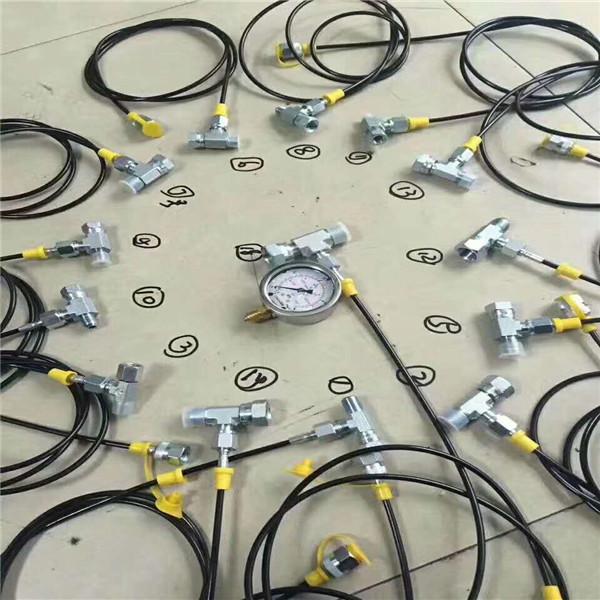 进口测压软管总成厂家地址 超高压压力表线 采用优质原材料