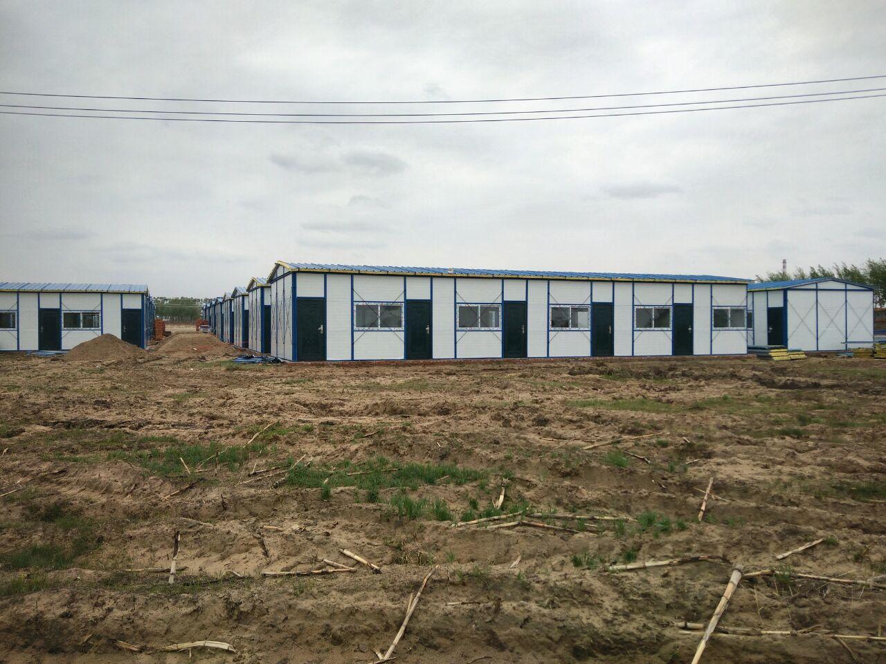 装配式彩钢房按需定制 工地住人彩钢活动房 菏泽活动房按需定制