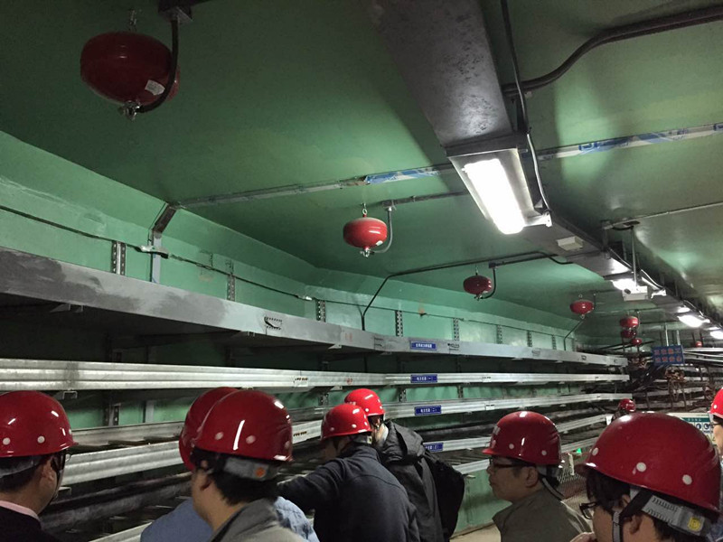 隧道超細干粉滅火裝置無污染 非貯壓干粉裝置 滅火效果良好