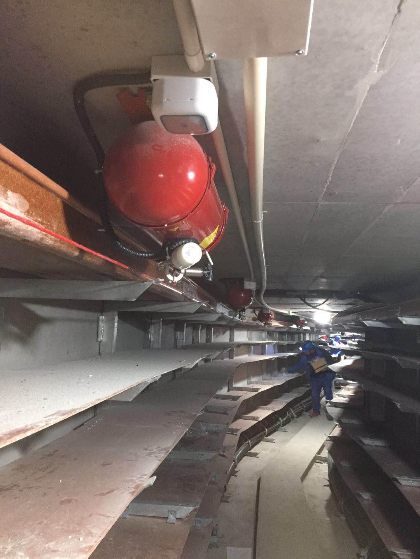 撞擊啟動超細干粉滅火裝置帶氮氣壓檢測 滅火系統 產品性能穩定