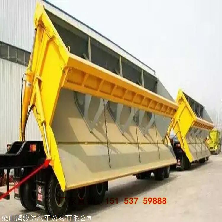 13米輕型側翻自卸半掛車 側翻半掛車 常州13米側翻輕型自卸車
