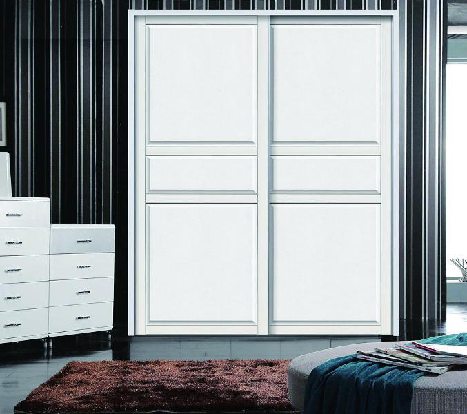 板式橱柜衣柜 工程用橡木色板式衣柜 实木板式衣柜的安装方法
