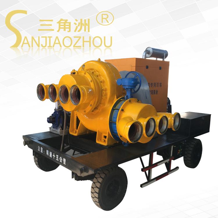 玉柴发动机移动泵车厂家 大流量移动泵站价格