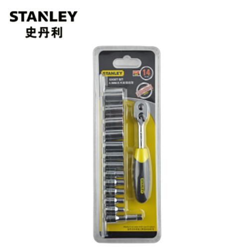 史丹利 14件6.3MM系列套筒组套,95-321-1-23 14件6.3MM系列套筒组套 95-321-1-23