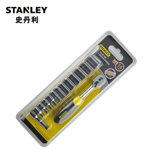 史丹利 14件6.3MM系列套筒组套,95-321-1-23