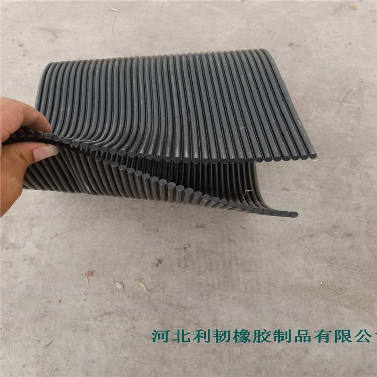 橡胶防尘帘 码头导料槽挡尘帘 抗静电防尘帘厂家供货