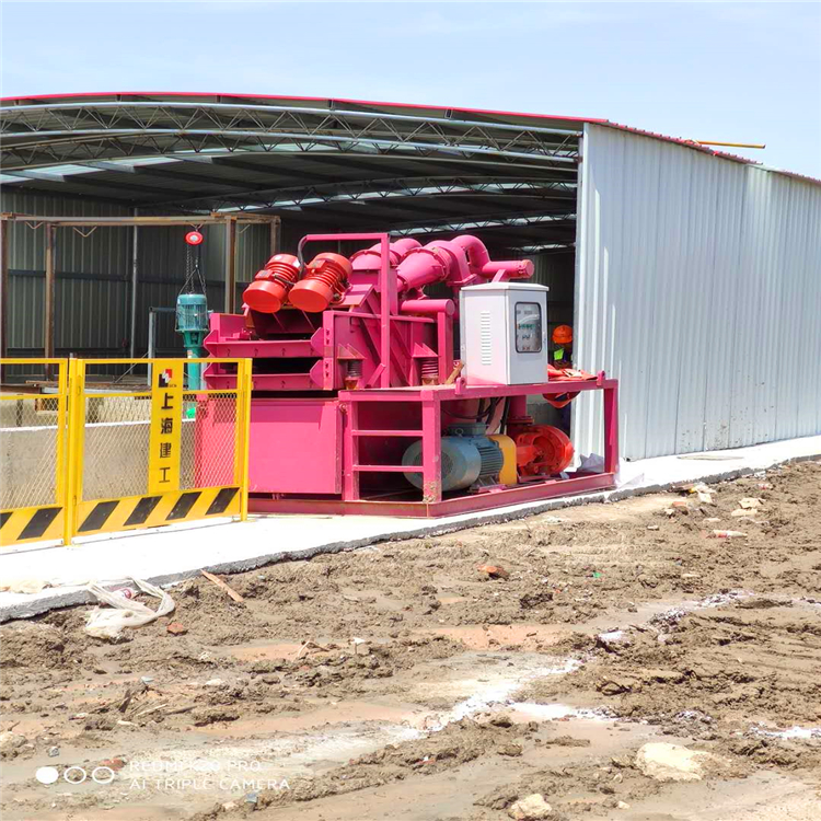 鉆機樁基礎 泥漿循環利用