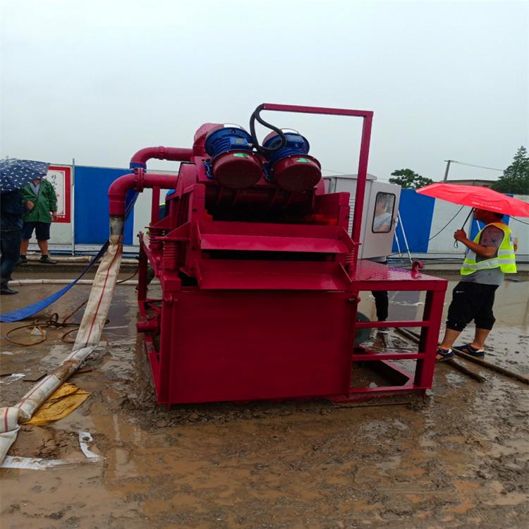 泥水處理機 控制泥漿的性能指標