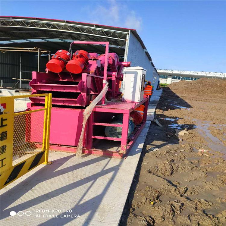 打樁泥漿處理機 循環使用率高