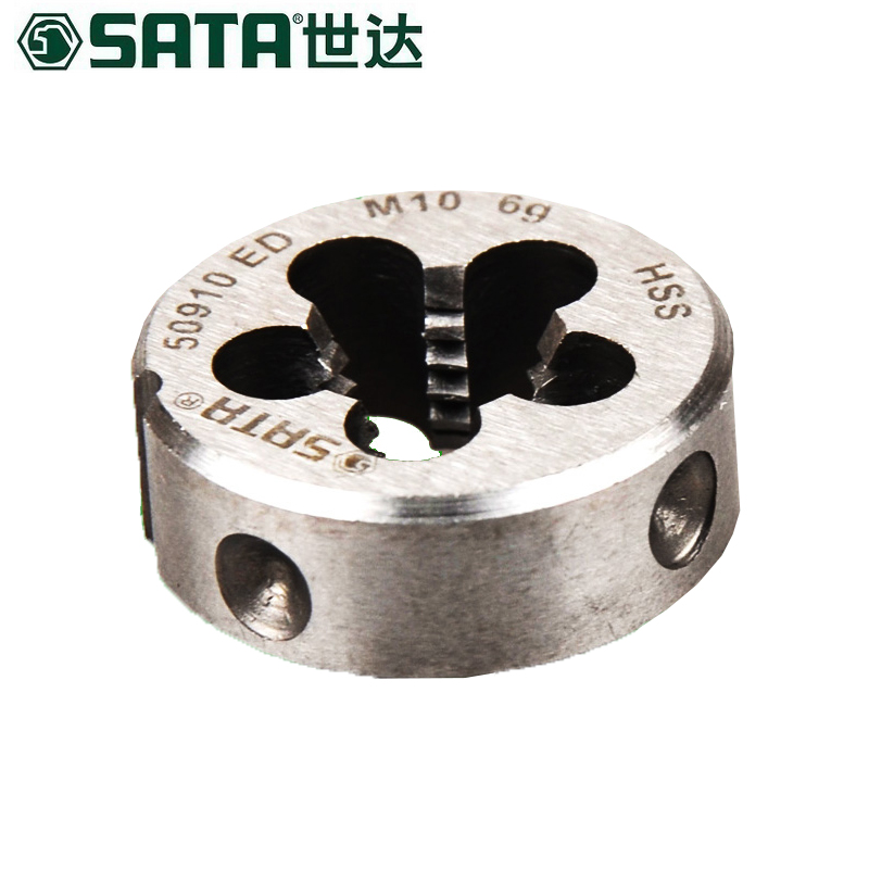 世达SATA 高速钢粗牙圆板牙,M3x0.5mm,50903 高速钢粗牙圆板牙M3*0.5MM 50903