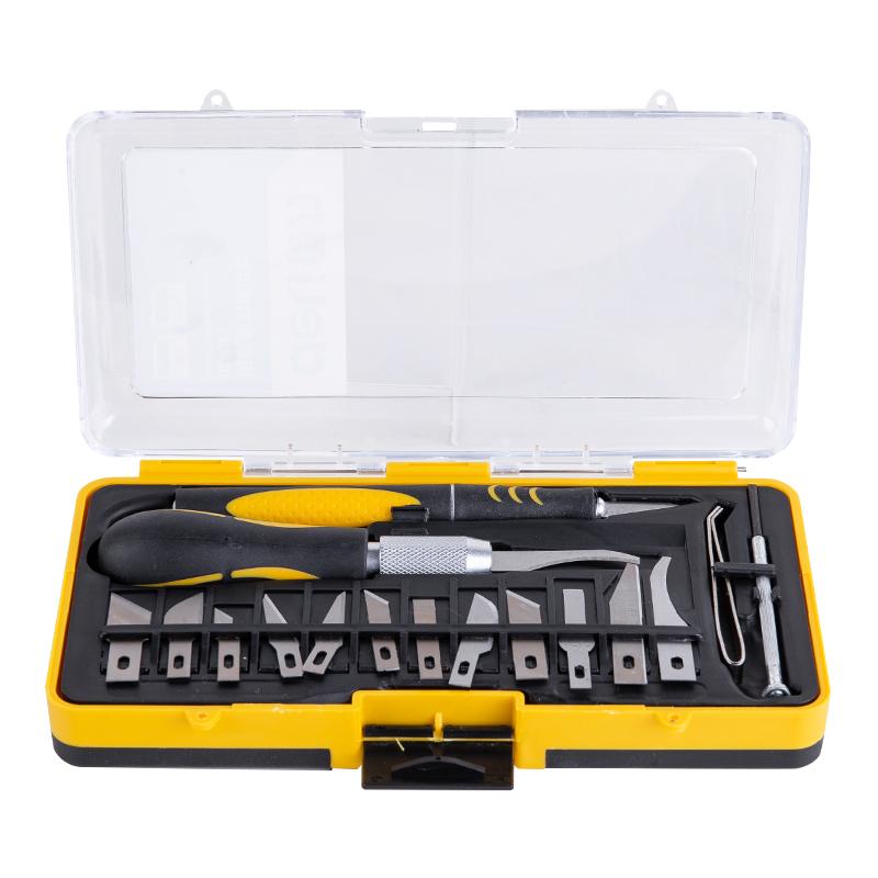得力DeLi 组合刻刀,16件套,DL-DP1
