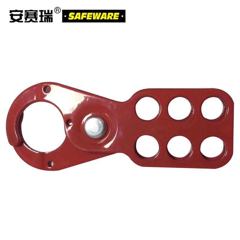 安赛瑞 经济型钢制安全锁钩-钢制,红色,锁钩Φ25mm,14720  14720