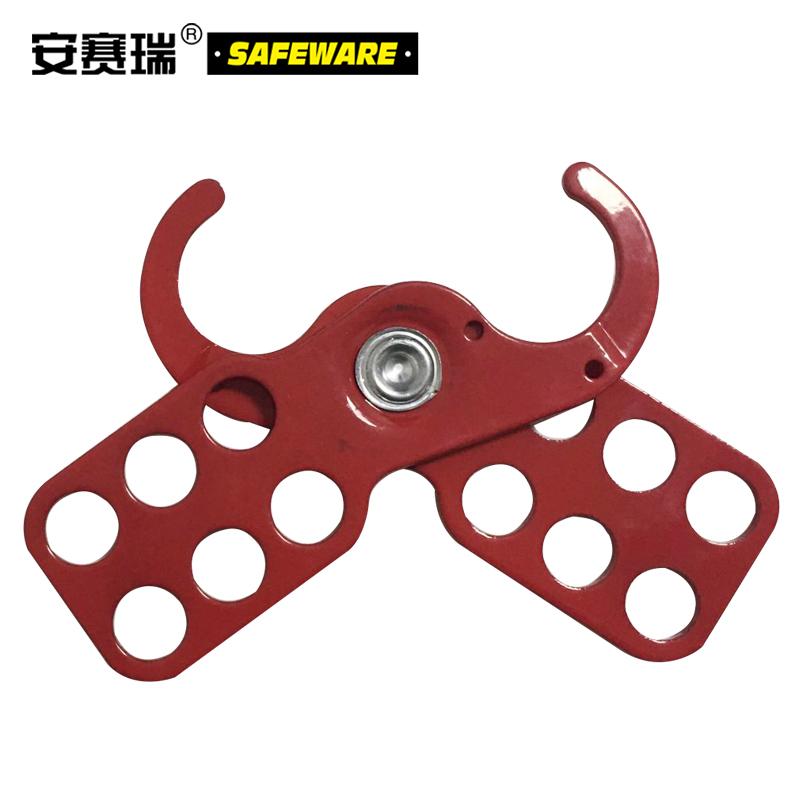 经济型钢制安全锁钩-钢制,红色,锁钩Φ25mm,14720