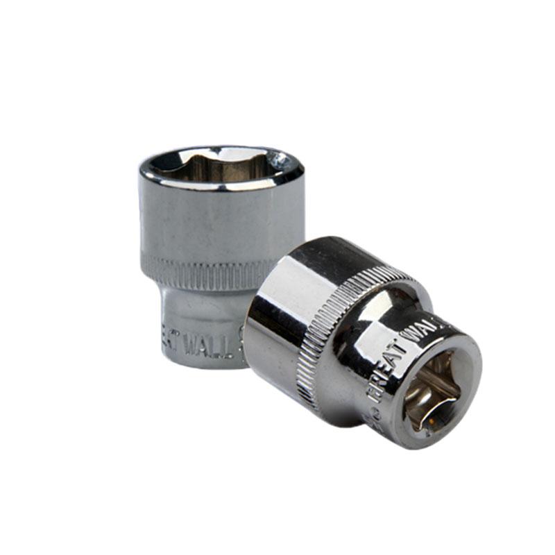 """长城精工 3/8""""(10mm)系列公制六角套筒,18mm,520018 18mm 520018"""