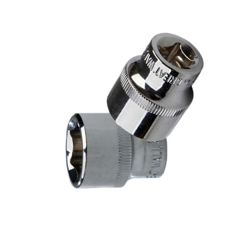 """长城精工 3/8""""(10mm)系列公制六角套筒,18mm,520018"""