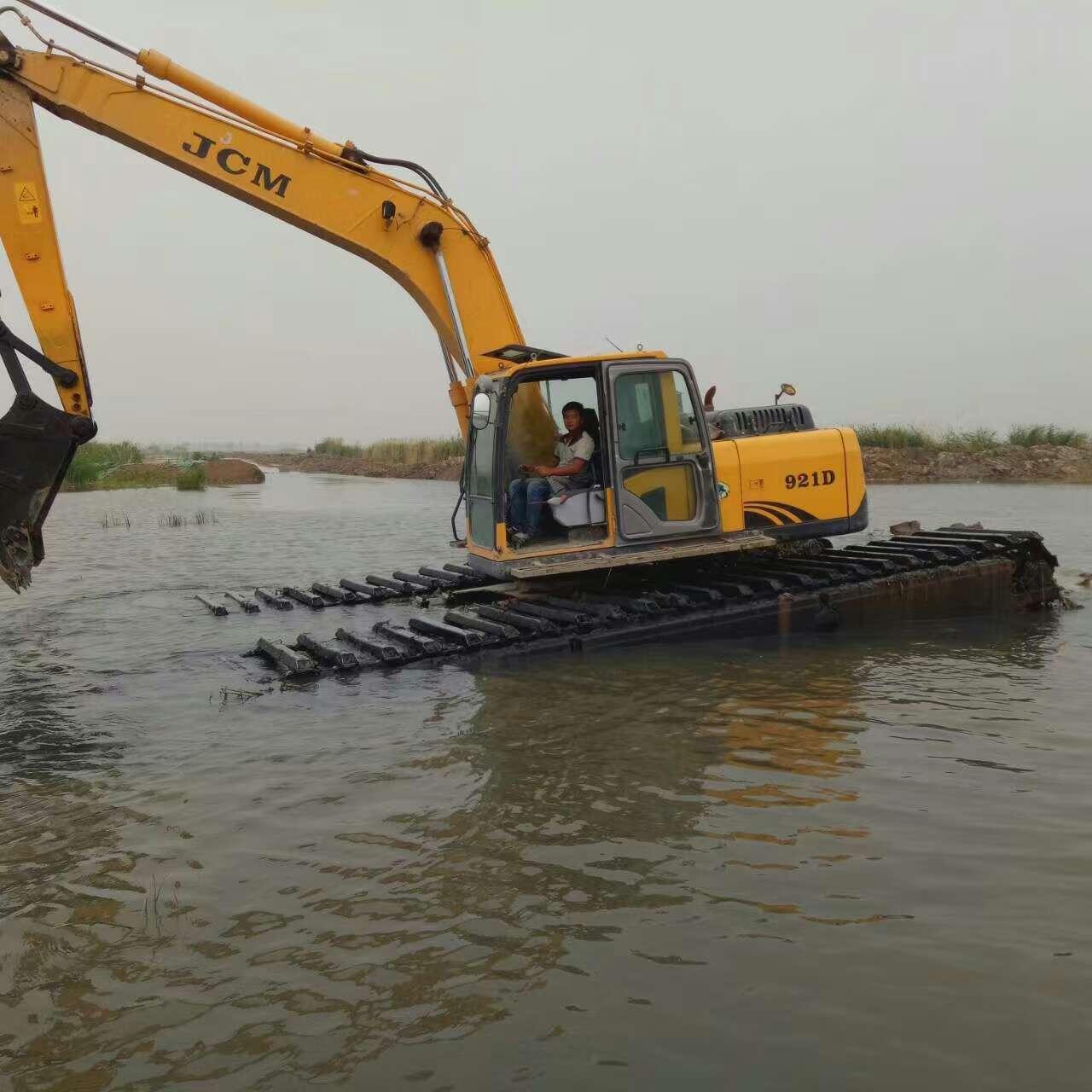 水陆挖机租 水陆挖机 供应滩涂挖掘机出租公司