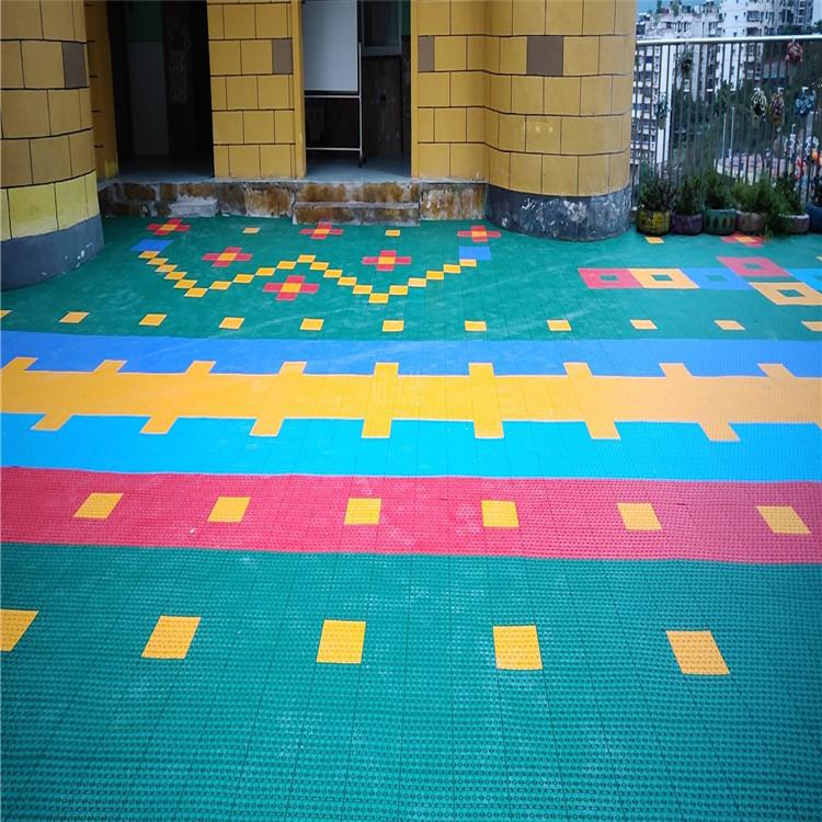 悬浮拼装地板 锁扣拼装地板 金堂悬浮拼装地板生产厂