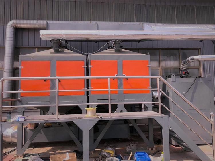 催化燃烧设备jnykhb 催化燃烧法优点 橡胶废气处理设备厂家
